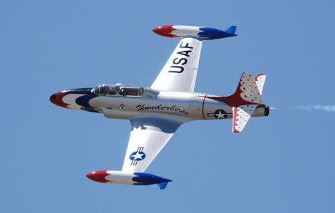 2000 Lockheed T-33 Silver Star (T-Bird)