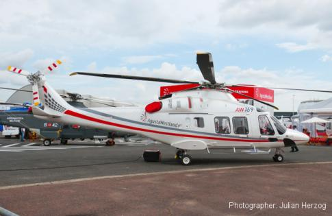 Aircraft for Lease in Italy: 2016 Agusta AW169