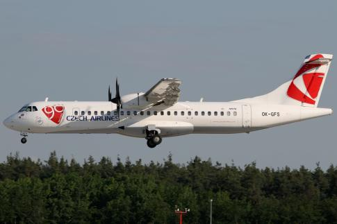 Aircraft for ACMI Lease/ Wet Lease/ Damp Lease/ Charter in Czech Republic (PRG): 2001 ATR 72-500
