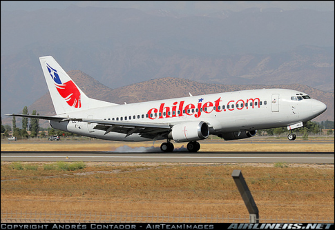 Aircraft for ACMI Lease/ Wet Lease in Chile: 1990 Boeing 737-300