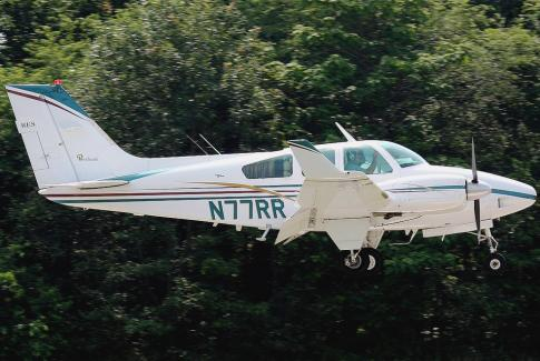 Aircraft for Sale in Williamstown, New Jersey, United States: 1965 Beech 95-B55 Baron