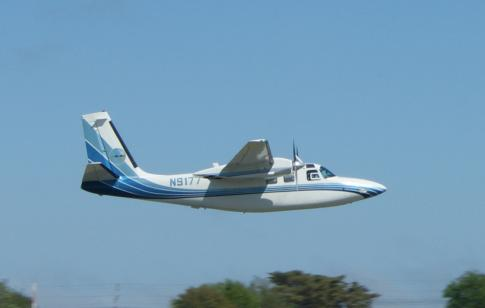 1972 Aero Commander 500S Shrike
