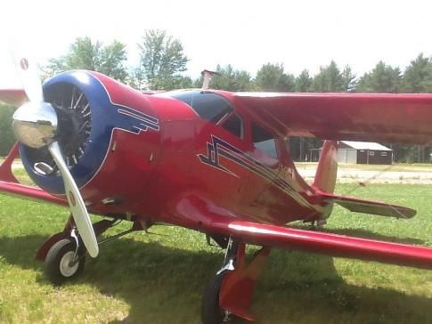 1944 Beech 17 Staggerwing
