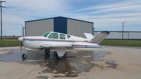 Aircraft for Sale in Cleburne, Texas, United States (KCPT): 1954 Beech E35 Bonanza