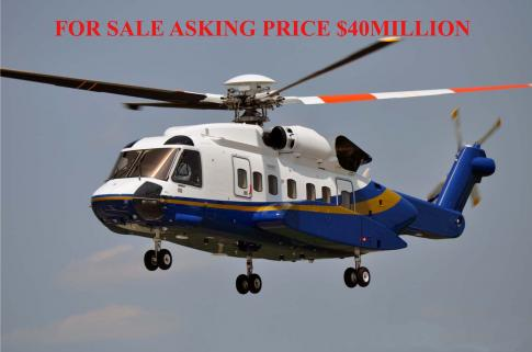 Aircraft for Sale in Monaco: 2014 Sikorsky S-92