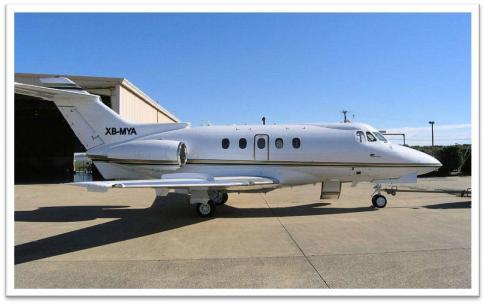 Aircraft for Sale in Monterrey, Mexico: 1970 Hawker Siddeley 125-400-731