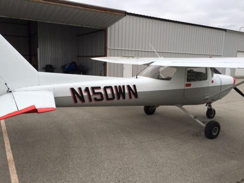 Aircraft for Sale in Greenwood, Indiana, United States (KHFY): 1973 Cessna 150L Commuter