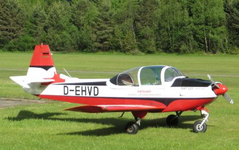Aircraft for Sale in Bonn/Hangelar, NRW, Germany (EDKB): 1968 Siat 223K-1 Flamingo