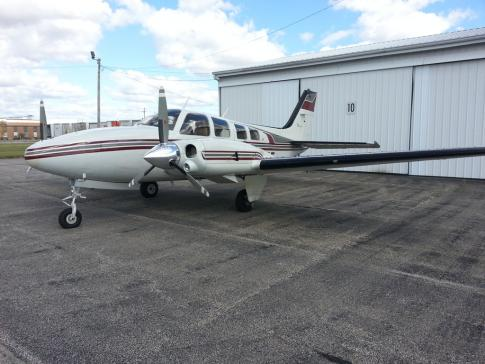Aircraft for Sale in Seymour, Indiana, United States (KSER): 1977 Beech 58P Baron