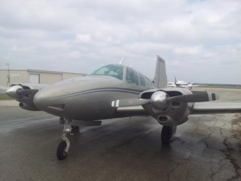Aircraft for Sale/ Share/ Position in United States: 1962 Beech B95A
