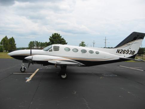 Aircraft for Sale in Jackson, Mississippi, United States (KHKS): 1980 Cessna 414A Chancellor