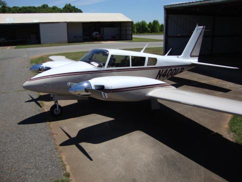 Aircraft for Sale in Charlotte, North Carolina, United States (CLT): 1966 Piper PA-30 Twin Comanche