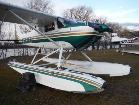 Aircraft for Sale in Quebec, Canada: 1956 Cessna 180 Skywagon