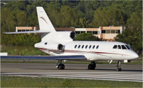 Aircraft for Lease/ Wet Lease/ Dry Lease in San Marino: 1988 Dassault 50 Falcon