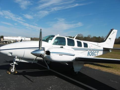 Aircraft for Sale in Madison, Mississippi, United States (KMBO): 1990 Beech 58 Baron