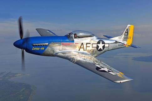 Aircraft for Sale in Germany (EDAH): 1940 North American TF-51D Mustang