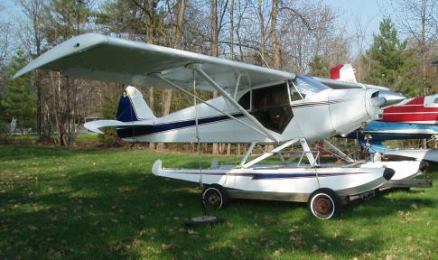 Aircraft for Sale in Gatineau, Quebec, Canada: 1948 Piper PA-14 Family Cruiser