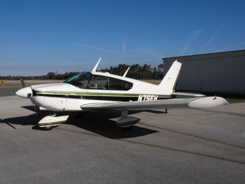 Aircraft for Sale in Ormond Beach, Florida, United States (OMB): 1965 Piper PA-28-180 Cherokee