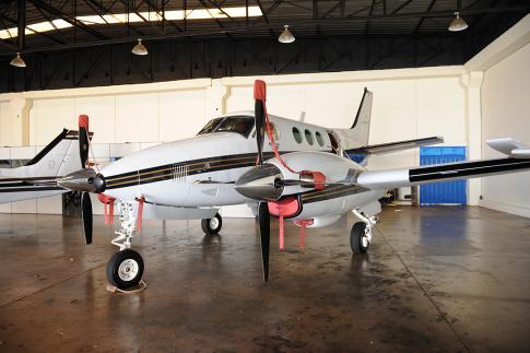 Aircraft for Sale in Londrina, Parana, Brazil: 1981 Beech C90 King Air