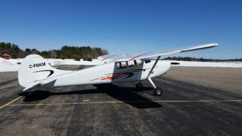 Aircraft for Sale in Maniwaki, Quebec, Canada (CYMW): 1955 Cessna 170B