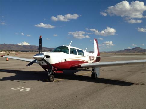 Aircraft for Sale in San Luis Obispo, California, United States (KSBP): 1982 Mooney M20J 201