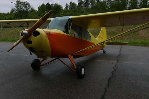 Aircraft for Sale in Västerås, Sweden (ESOW): 1945 Aeronca 7AC-65 Champion