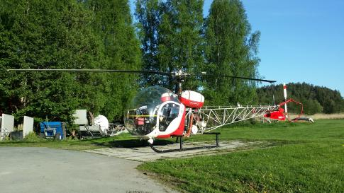 Aircraft for Sale in Sweden (ESSN): 1965 Bell 47G-3B1
