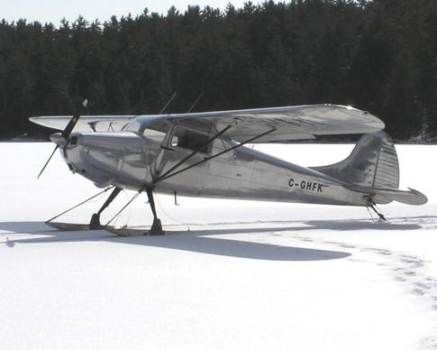 Aircraft for Sale in Ottawa, Ontario, Canada (CYRO): 1948 Cessna 170