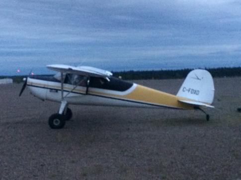 Aircraft for Sale in Thompson, Manitoba, Canada (Cyth): 1946 Cessna 140