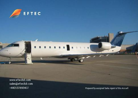 Aircraft for Sale in Ljubljana, Slovenia (LJL): 2001 Bombardier CRJ-200ER