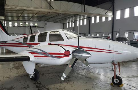 Aircraft for Sale in Brazil: 2003 Beech 58 - 1