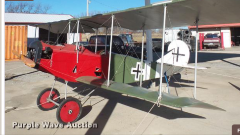 Aircraft for Auction in McLouth, Kansas, United States: 1990 Loehle Fokker D-11 Bi-plane