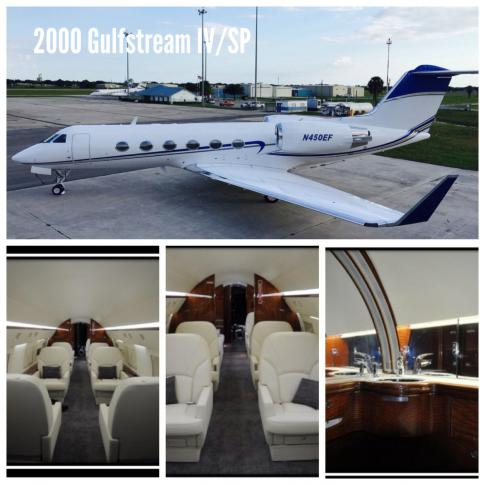 Aircraft for Sale in United States: 1999 Gulfstream GIV/SP
