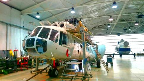 Aircraft for Sale in Russia: 1993 Mil MI-8MTV-1