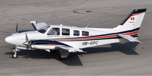 Aircraft for Sale in Bern, Switzerland (LSZB): 1984 Beech 58P Baron