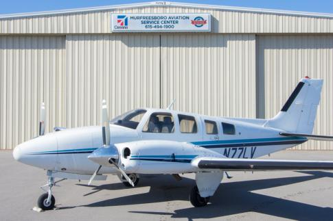 Aircraft for Sale in Murfreesboro, Tennessee, United States (KMBT): 1980 Beech 58P Baron