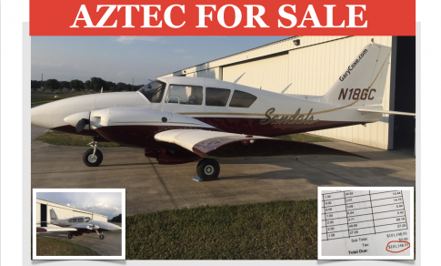 Aircraft for Sale in Lakeland, Florida, United States (KLAL): 1970 Piper PA-23 Aztec D