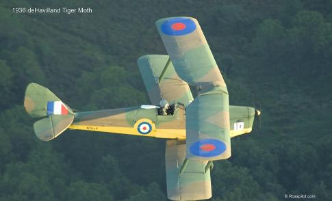 1936 de Havilland DH-82A Tiger Moth