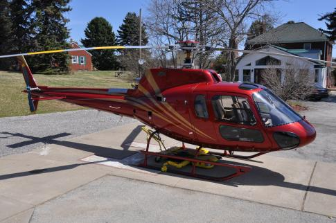 1980 Eurocopter AS 350FX Ecureuil