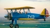 Aircraft for Sale in Indiana, United States: 1943 Stearman PT-17/E75-N1