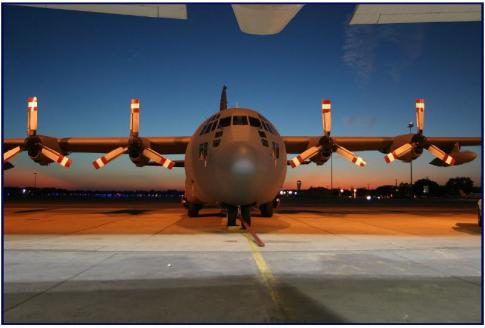 Off Market Aircraft in Louisiana: 1957 Lockheed C-130A - 1