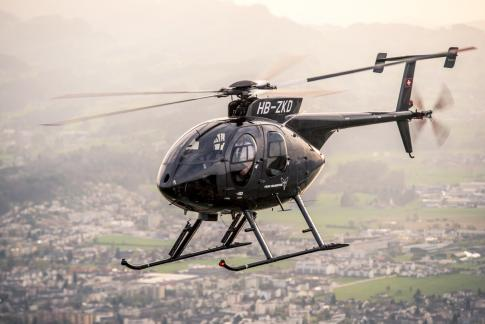 Off Market Aircraft in Switzerland: 2010 McDonnell Douglas MD-500 - 1