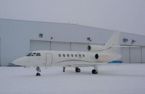 Off Market Aircraft in Switzerland: 2000 Dassault 50EX - 1