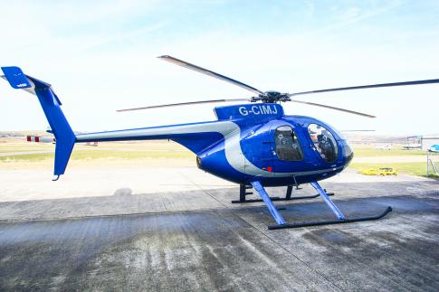 Off Market Aircraft in UK: 1985 McDonnell Douglas MD-500E - 3