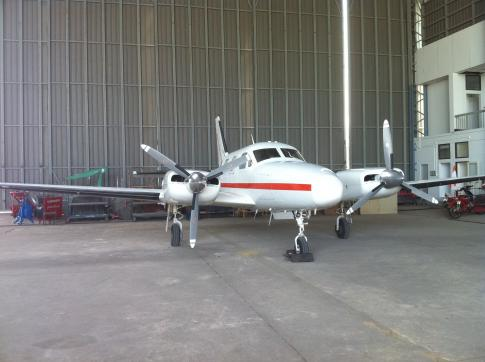 Off Market Aircraft in Thailand: 1972 Piper PA-31P-425 - 1