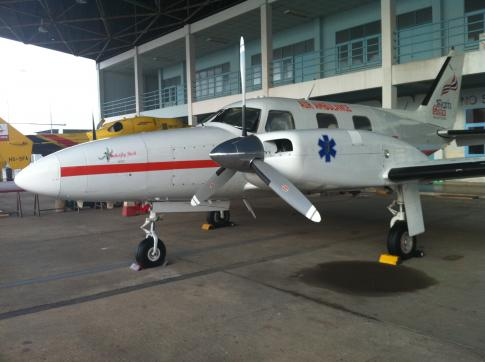 Off Market Aircraft in Thailand: 1972 Piper PA-31P-425 - 3