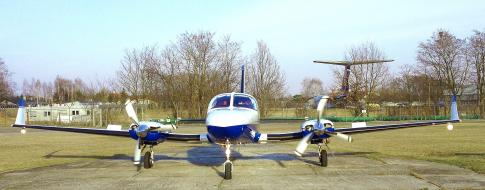 Off Market Aircraft in Lodz: 1982 Cessna 414 - 2
