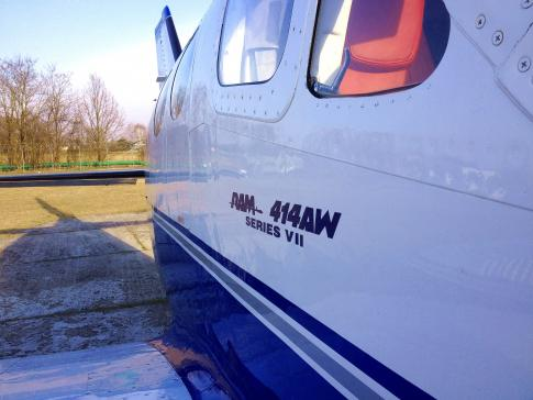 Off Market Aircraft in Lodz: 1982 Cessna 414 - 3
