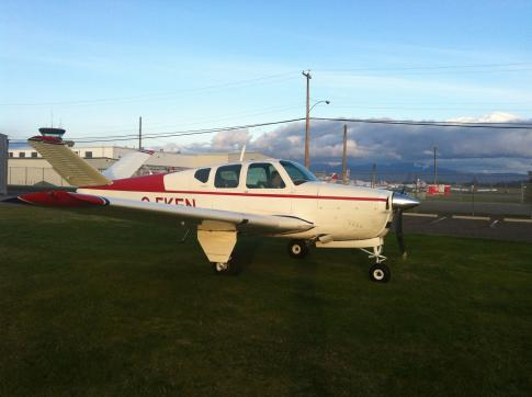 Off Market Aircraft in British Columbia: 1960 Beech M35 - 1