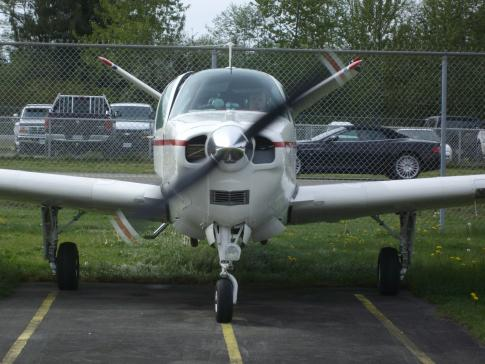Off Market Aircraft in British Columbia: 1960 Beech M35 - 2
